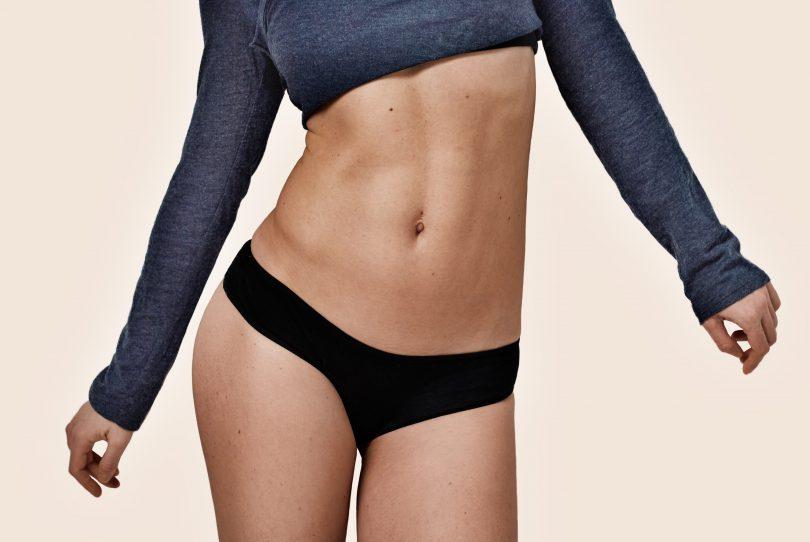 abdomen plat
