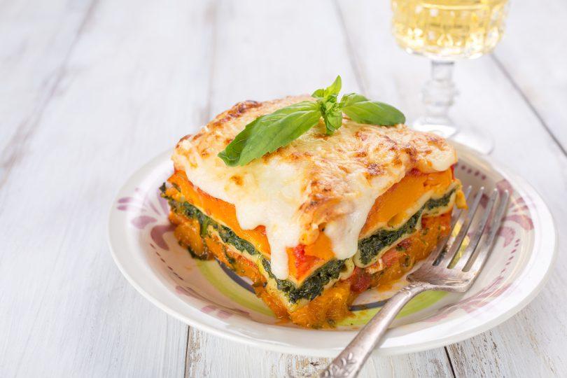 lasagna cu dovleac