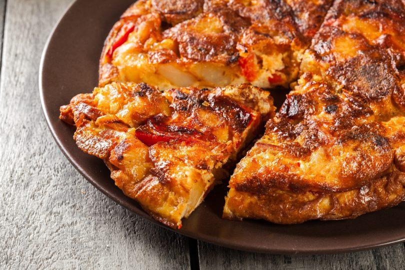 tortilla cu cartofi