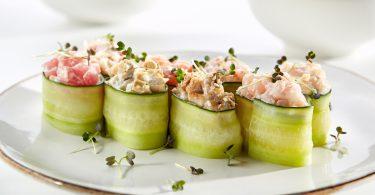 sushi in stil grecesc