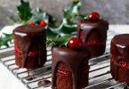 briose cu ciocolata si merisoare