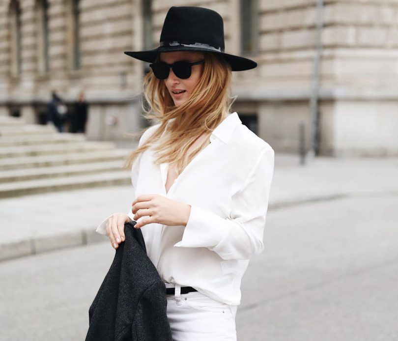 jeansii albi