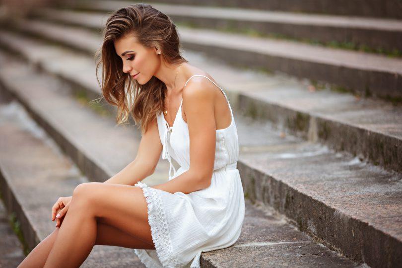 femeie cu inima sensibila