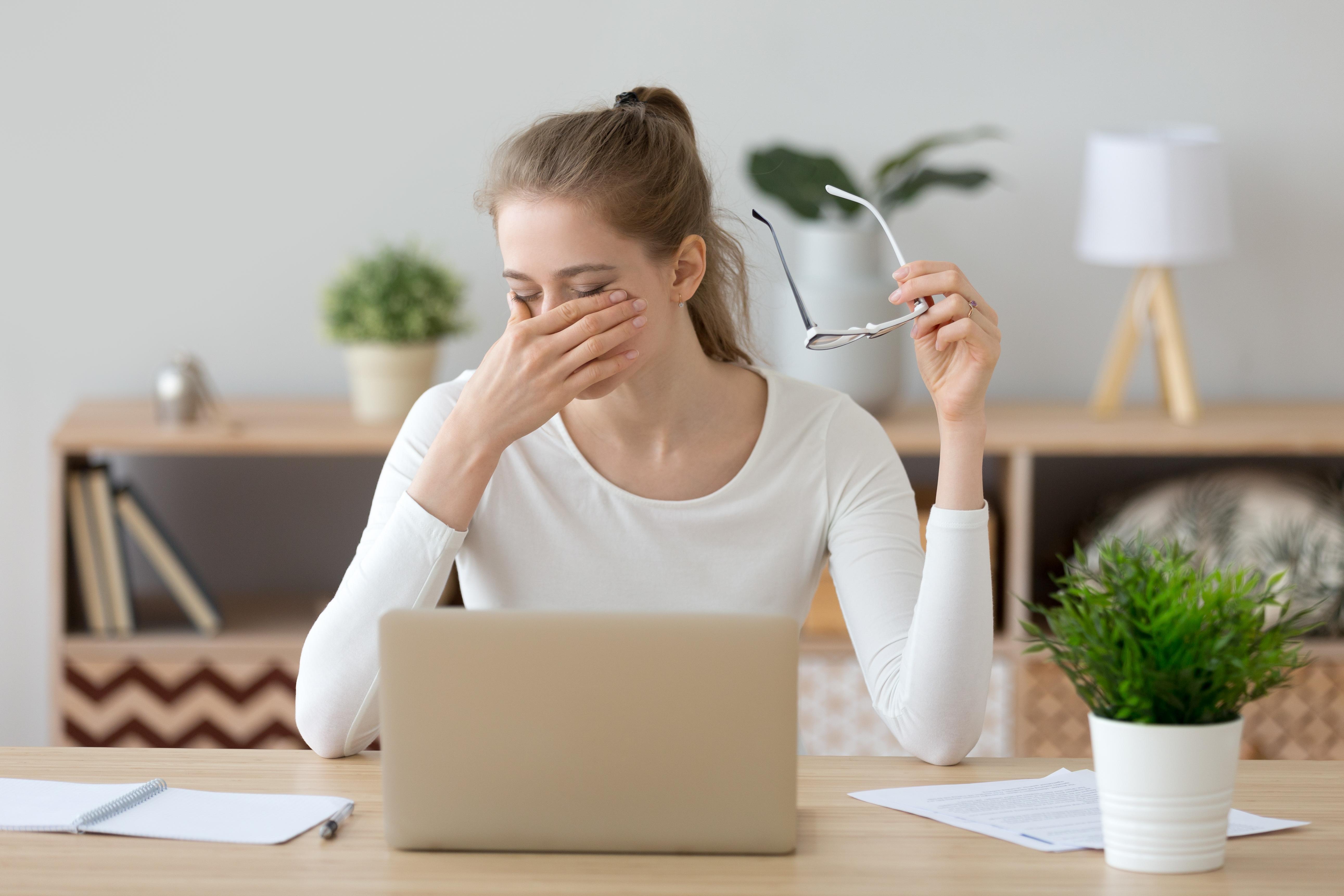 Sunătoarea afectează vederea