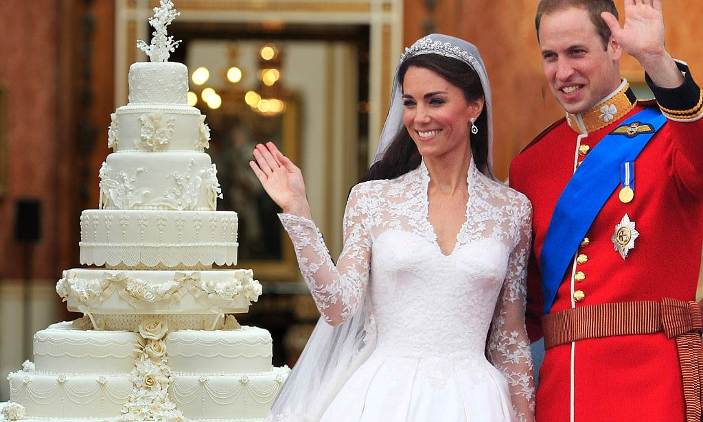 tort nunta kate si william